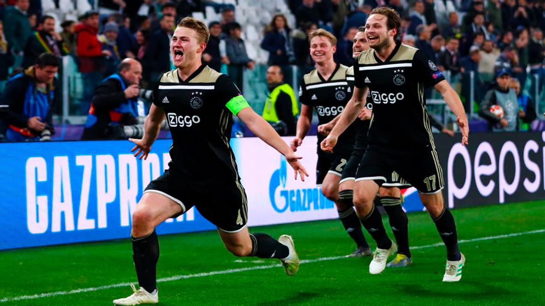 Ajax lo volvió a hacer: le ganó 2-1 a la Juve y lo sacó de la Champions
