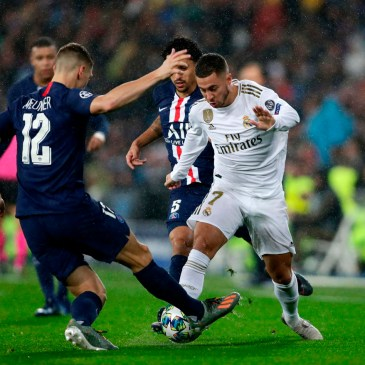 Una gran reacción de PSG fuerza el empate ante Real Madrid