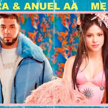 Shakira y Anuel AA lanzan Me Gusta