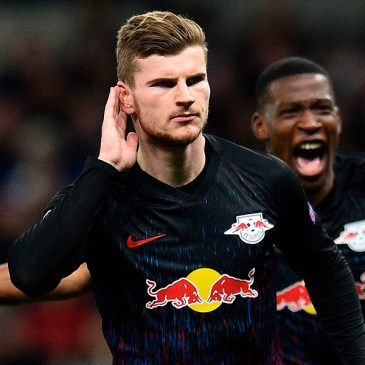 Werner alcanza a Messi como líder en hat-tricks en la temporada