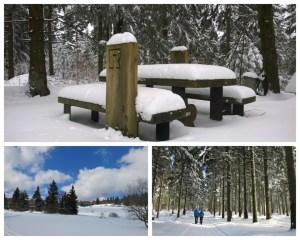 Ostern-Tambach-Dietharz-Schnee-Thüringer Wald-Rennsteig