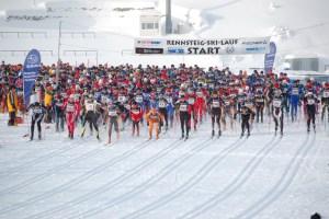 Start des Rennsteig-Ski-Laufs