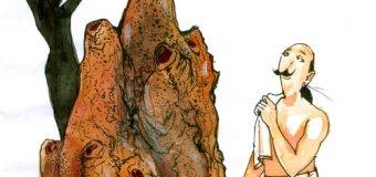 பூகம்பம் வந்து இடிஞ்சி விழுந்த கரையான் புத்துதான் கண்ணுல பட்டிருக்கா?