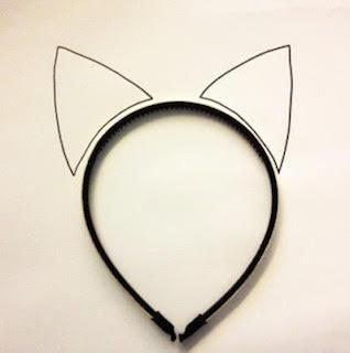 ハロウィンの猫耳やしっぽの手作り方法