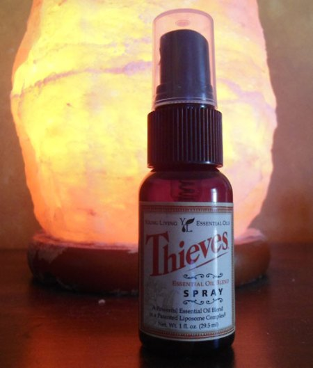 How To Use Young Living Thieves Spray To Kill Bacteria