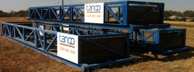 Drill Pipe Bin / Tub (Tango Oilfield Rental Solutions)