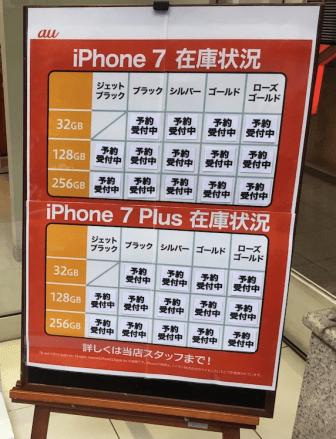 iPhone7plusの入荷状況。10月でもドコモやauは在庫なく届きそうもないからMNPがお勧め!