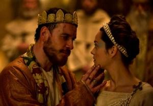 Das Ehepaar Macbeth (Michael Fassbender und Marion Cotillard)