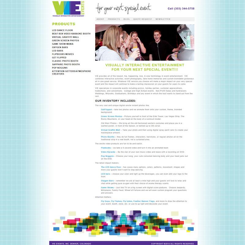 Standard HTML Website