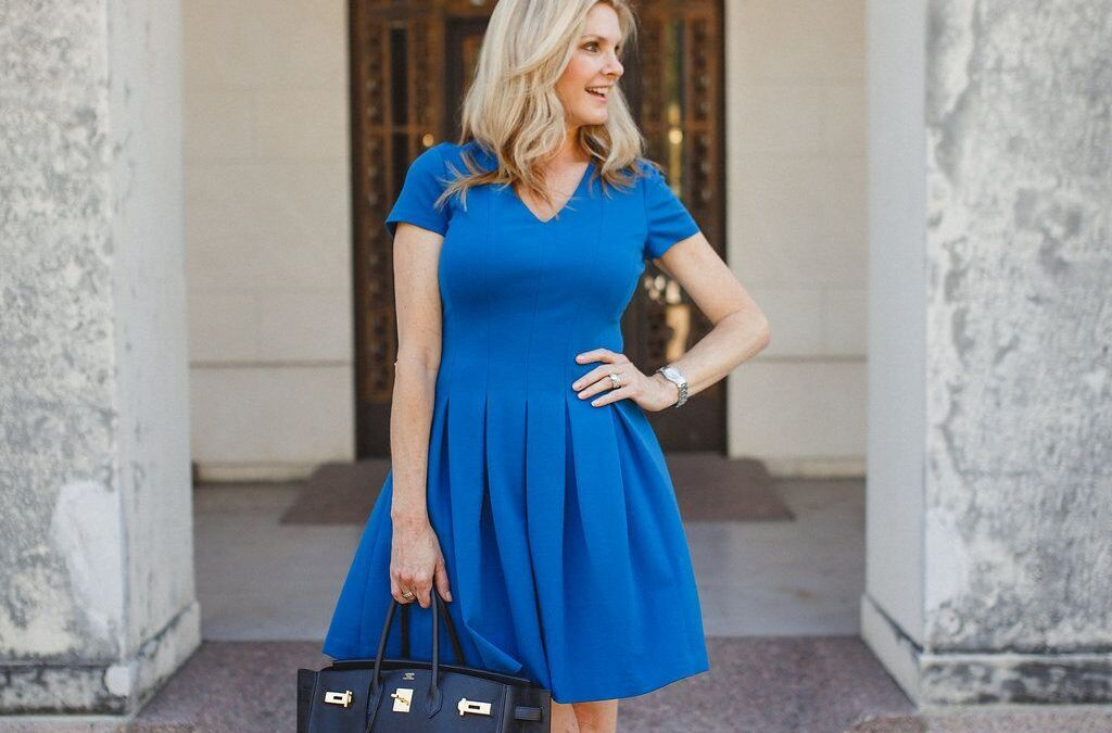the magic of a fit and flare dress