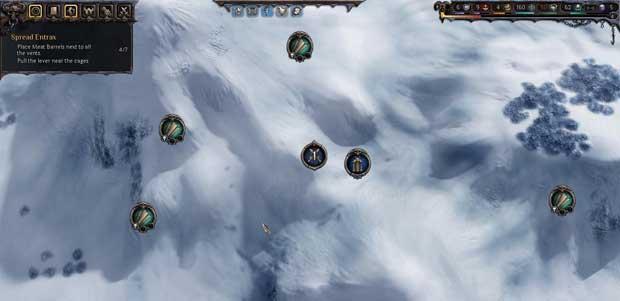 Squad One advances on an Overworld raiding target.