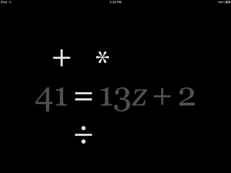 Algebra Touch iPad iPhone Math App | Euclidean Fountain Feature