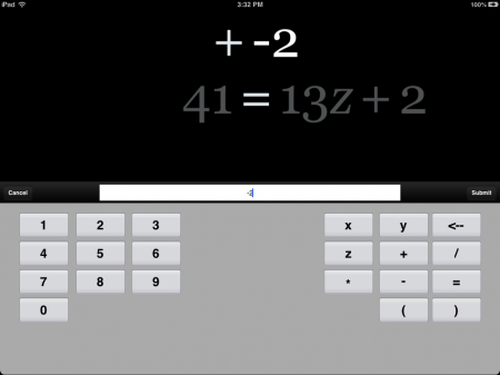 Algebra Touch Math App for iOS iPad iPhone | Euclidean Fountain
