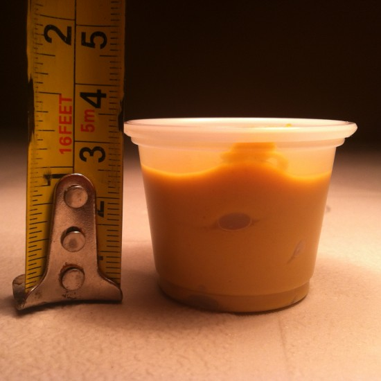 Mustard Meyhem Real World Math Task - Height of the Mustard Container