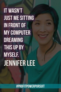 Jennifer Lee, author of The Right-Brain Business Plan, on Profit. Power. Pursuit. with Tara Gentile