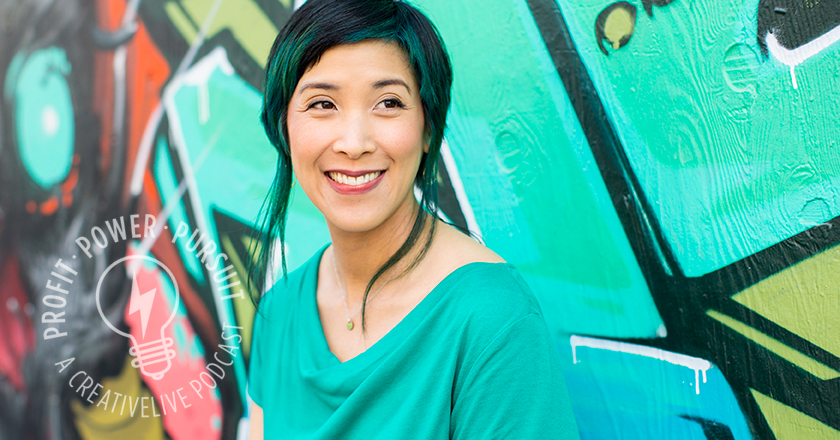 Jennifer Lee, author of Right-Brain Business Plan, on Profit Power Pursuit with Tara Gentile
