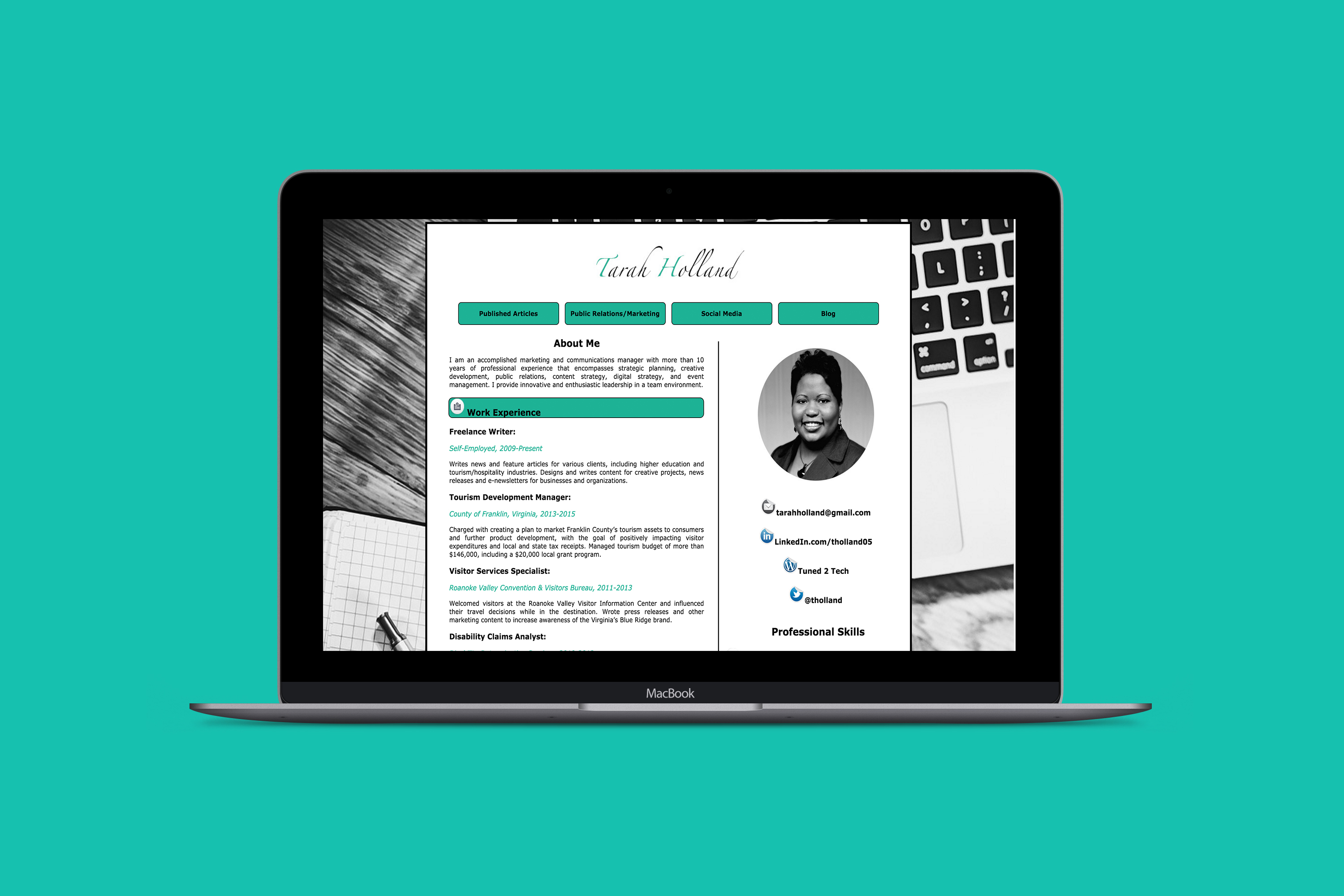 Resume Web Design