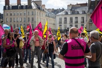 Manifestation Sud Solidaires Rennes