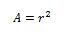 circulo formula