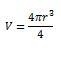 esfera formula solido