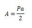 poligono regular formula