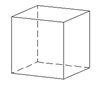 sólido Hexaedro o cubo