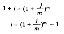 Ecuación de equivalencia