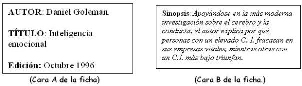 Ficha de Libro de Consulta