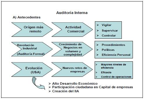 Antecedentes de la Auditoria Interna