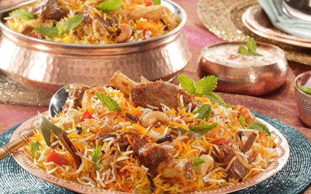 طريقة عمل برياني لحم هندي بالصور