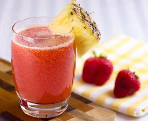 الاناناس والفراولة Strawberry-Pineapple
