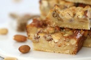 طريقة الهند واللوز الشهي Nut-Caramel-Slice-3.