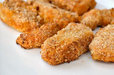 طريقة ناجتس الدجاج الجاهز الطبق chefmom-homemade-chi