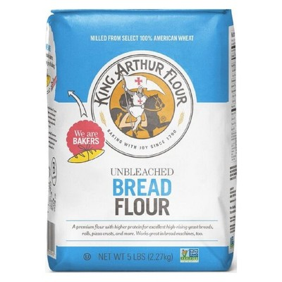 King Arthur Flour Unbleached Bread Flour - 5lbs : Target