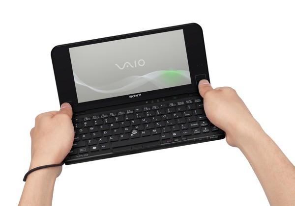 newvaioplead01 [netbook] Sony VAIO P turbinado, com acelerômetro e touchpad