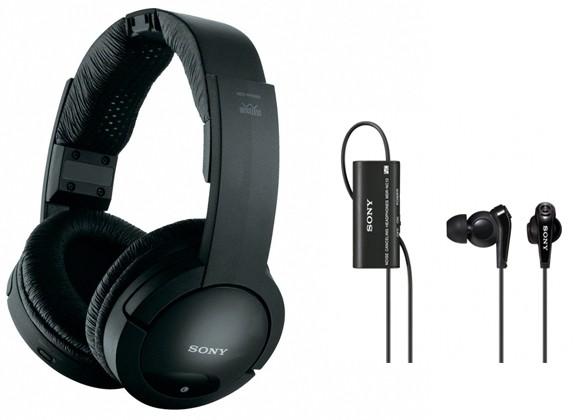 3 29 11 sony headphones Sony NC13 e RF856RK: fones de ouvido com redução de ruído e tecnologia sem fio
