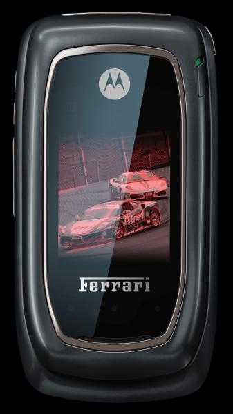 amphora shadow front Motorola i897 Ferrari Black é lançado no Brasil pela Motorola e Nextel