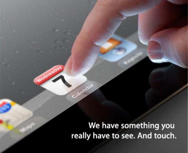 28 convite 600x489 Lançamento do iPad 3 confirmado pela Apple, para o dia 7 de março