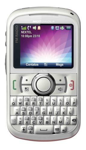 i475w lady birdstone pink front nii port Motorola i475w, o telefone Nextel pensado nas mulheres