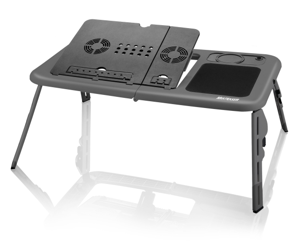 AC127 a Cooler Table da Multilaser foi feito para todos os tamanhos de notebooks