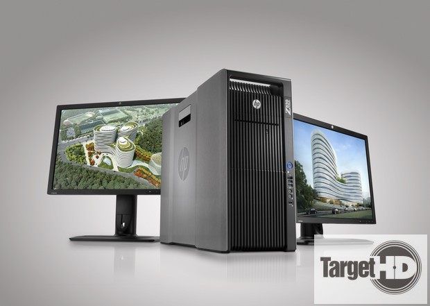 HP Z820 Workstation and dual HP ZR2440w Displays with Autodesk Workstation HP Z820, um desktop que promete o máximo de desempenho #BigBangHP