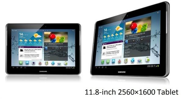 9878 20120731100941 Por causa dos tribunais, Samsung revela existência de seu tablet de 11.8 polegadas