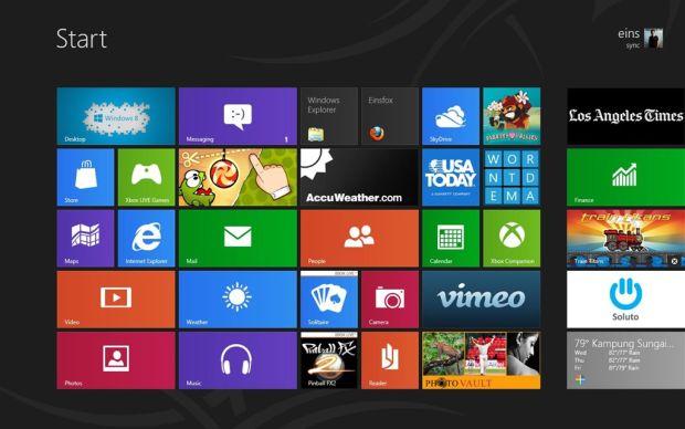 windows 8 pro Mais da metade dos consumidores norte americanos nunca ouviram falar do Windows 8