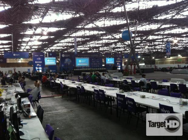 IMG 1109 E estamos na Campus Party Brasil 2013!