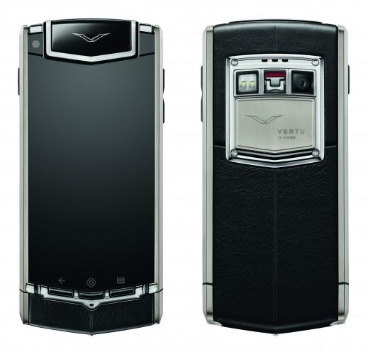 ti handset front rear str wh i 519x500 Vertu Ti, o Android de luxo de US$ 10 mil, é anunciado oficialmente
