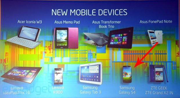 intel galaxy s 4 [Rumor] Um Samsung Galaxy S4 com processador Intel?