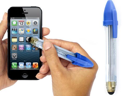 puntero tactil boligrafo bic n1 Uma caneta Stylus em forma de caneta Bic, para os mais nostálgicos