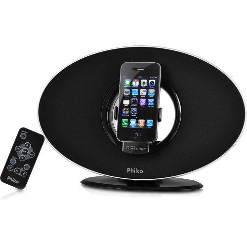 110624631SZ Black Friday 2013 | Dock Station para iPhone e iPod (30 pinos) Philco PH9, por R$ 99 (via boleto) ou R$ 112 (via cartão)