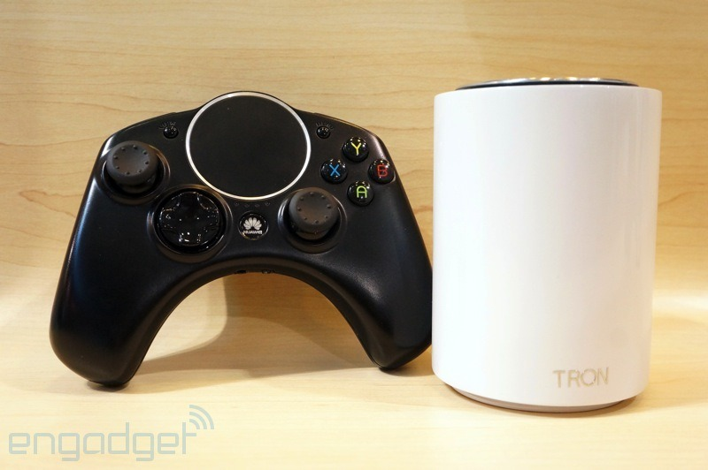 tron 019 1 CES 2014 | Huawei apresenta o Tron, o seu console Android