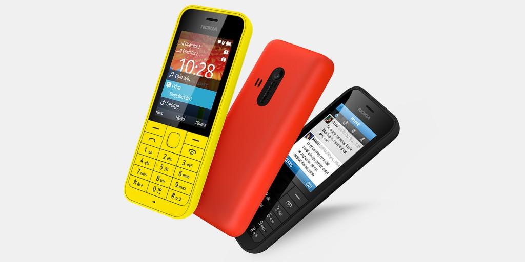 Nokia 220 Dual SIM 1024x512 MWC 2014 | Nokia 220 e Nokia 220 Dual SIM é anunciado: o celular com dados mais barato do mercado